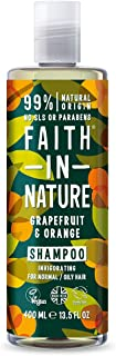 Faith In Nature Grapefruit & Orange Shampoo, 400 ml