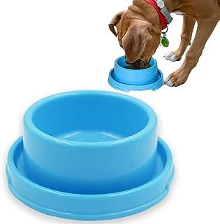 PetLike Dog Bowls Raised Pet Food Bowls, No Spill Pet Feeder Bowl for Cat Puppies Anti Ant Bowl Water Food Feeder Dish