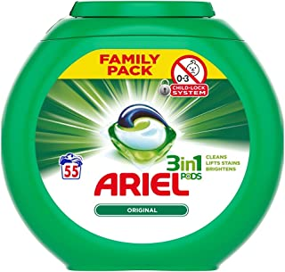'Ariel Original 3-In-1 Pods Family Pack, 1558 g'