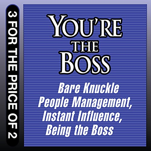 You're the Boss audiobook cover art