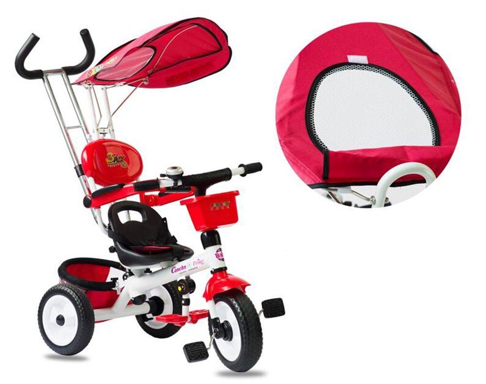 YJXTYP Triciclo De Niños Carritos De La Bicicleta del Niño con ...