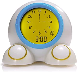Mirari Teach Me Time Educational Alarm Clock Night Light