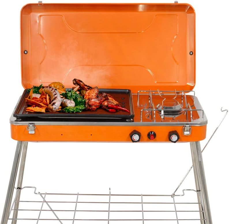 Ranking TOP20 N A Portable Camping Grill Sturdy Portland Mall Desi Foldable Double-Layer