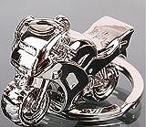 Sportigo® Motocicleta Llaveros en de Color Plata/Motocicleta Moto Biker Regalo