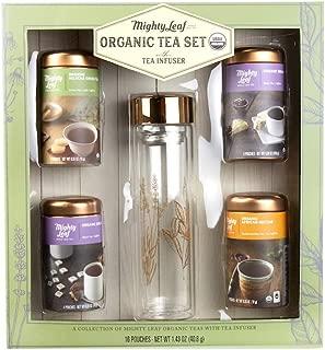 Best usda organic mighty leaf tea set Reviews