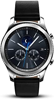 Samsung Gear S3 Classic Smartwatch (Bluetooth), SM-R770NZSAXAR – US Version with Warranty