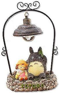 Hayao Miyazaki Totoro Forest Nightlight Ornaments Iron Craft Gift Home Furnishing Resin Birthday Gift for Men and Women