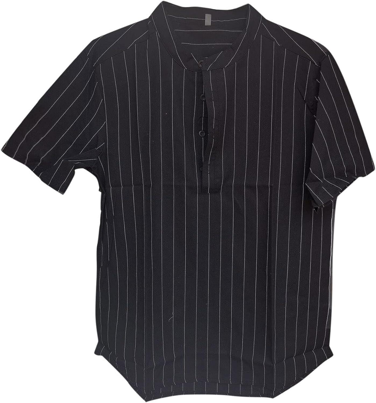 Mens Casual Slim-fit T-Shirt Short Sleeve Regular Fit Summer Solid Tees Classic Basic Pajama Undershirt Yoga Shirt
