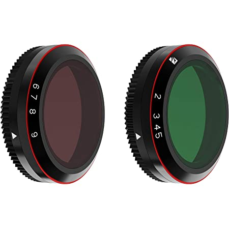 Freewell Variable ND 2-5 Stop, 6-9 Stop 2 Pack VND Filters Compatible with Mavic 2 Zoom/Enterprise