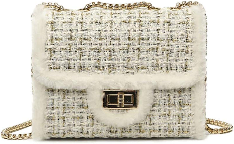 HWUDFSLG Neue Frauen Mini Mini Mini Weave   Umhängetaschen Weibliche Kette Crossbody Mode Damen Stricken Handtasche Braid B07QJYG9DN  Kostengünstig 1a95dd