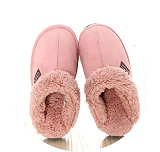 Soft Floor Slipper Sheepskin Winter Fall Thermal Warm Wool Slipper Plush Home Slipper