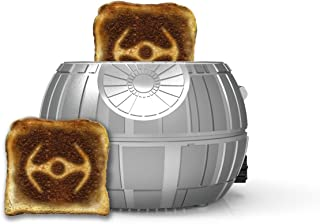Uncanny Brands Star Wars Death Star 2-Slice Toaster- Toasts Iconic Tie Fighter onto Your Toast