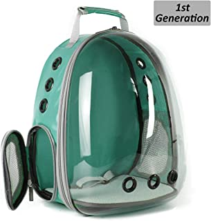 Cat Backpack, Space Capsule Bubble Pet Backpack for Small Dog, Traveling, Camping and Hiking Outdoor Polarized Tinted Bag for Fat Cat, Airline Approved