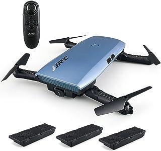 GoolRC JJR/C H47ドローン 720P カメラ WIFI FPV ド高度保持 Gセンサー制御 折り畳み式 自分撮り クアドコプター 2つの予備バッテリー付き