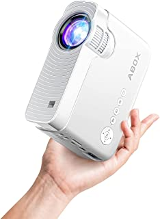 "Bomaker Mini Projector for iPhone, Portable Wireless WiFi Projector for Phone/Office Presentation, Full HD 200"" Display Su..."