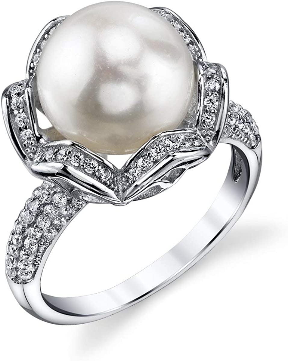 THE PEARL Courier shipping free shipping SOURCE 11-12mm Genuine Cultured Portland Mall White Pearl Freshwater