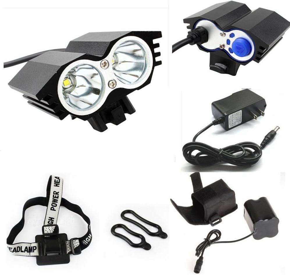 5000LM XML U2 LED Cycling Front Headlight Bike Bicycle Head Light Headlamp Torch