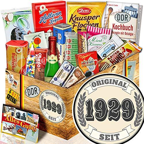Original seit 1929 - XXL Suessigkeiten Box - Geschenk zum Geburtstag