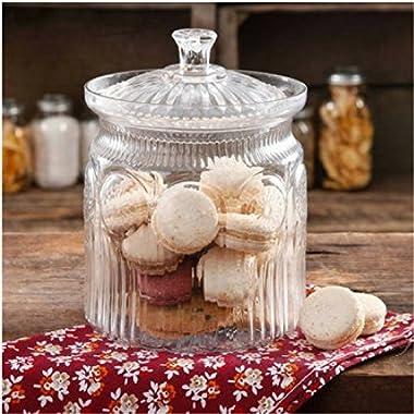 The Pioneer Woman Adeline Glass Cookie Jar - Clear