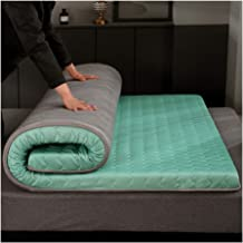 Non-Slip Tatami, Soft Breathable Knitted Double-Sided Breathable Mattress Single Double Student Futon Mat Foldable Mattres...