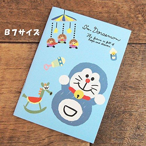 ショウワノート ドラえもん B7ノート C柄 I 'm Doraemon カラフルブルックリン