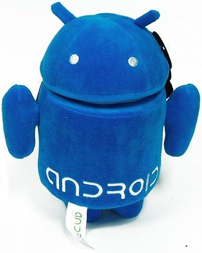 precios bajos Commonwealth Toys Android 10    Plush  azul  disfrutando de sus compras