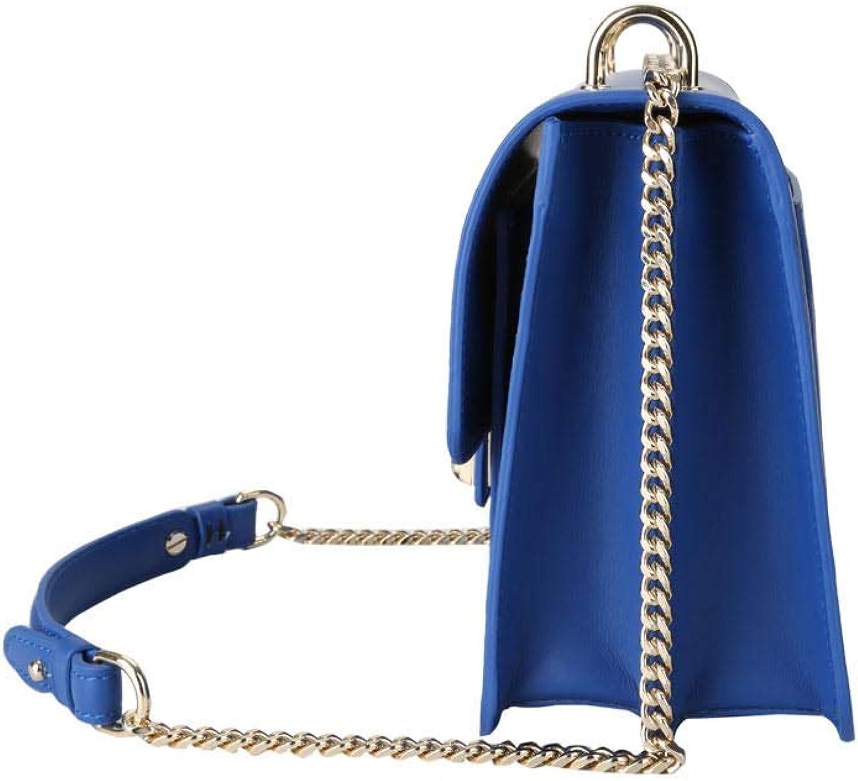Kesslord Carella MV, Sacs Porté main & épaule Les amies en Cuir de vachette lisse Bleu - Blu