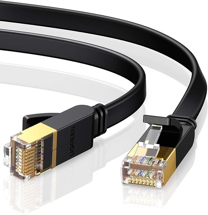 45865 opinioni per UGREEN Cavo Ethernet Cat 7 Piatto 10