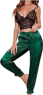 ملابس داخلية مثيرة للنساء من الدانتيل بيبي دول للنساء مثير (اللون: أخضر، المقاس: 2X-Large)