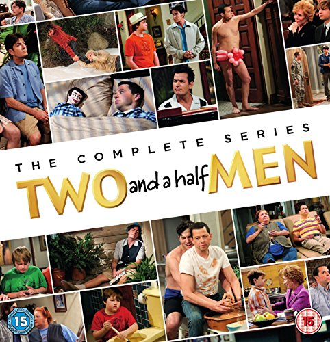 Two and a Half Men - The Complete Series (Season 1 - 12) [41 DVDs] [UK Import]