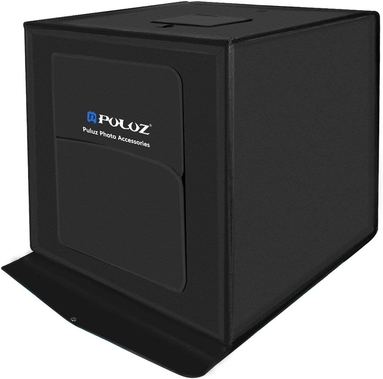 productos creativos Ballylelly PULUZ PULUZ PULUZ 60  60cm 60W Caja de luz LED Foto de Estudio Fotografía Caja Plegable de Caja  ventas en línea de venta
