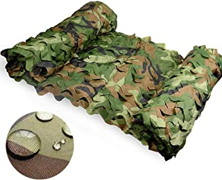 Image of NING Jungle Camouflage Net Camping Military Hunting Shooting Decoration with Mesh Support Camo Netting 5m5m/10m10m/20m20m/20m30m