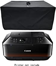 Wanty Black Antistatic Water-proof Dust-proof Nylon Fabric Printer Cover Case Protector for Canon PIXMA MX922 / MX532 / MX 472 / MX 452 / HP Officejet 5740 / Pro 6830 / ENVY 5640 Wireless Printers