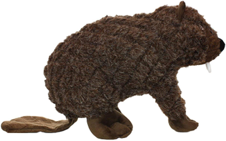 CFHJN HOME Benny Beaver Dog Toy Soft Durable