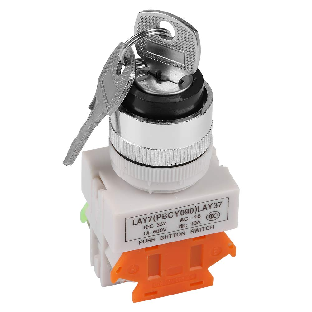 2 Position Key Operated 22mm Hi Switch Mount Spasm price 4 years warranty