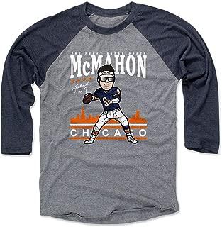 500 LEVEL Jim McMahon Shirt - Vintage Chicago Football Raglan Tee - Jim McMahon Toon
