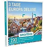 SMARTBOX - Geschenkbox - 3 TAGE EUROPA DELUXE - 190 Aufenthalte: 2 Nächte mit Frühstück in 3*, 4* oder 5* Hotels in Europa