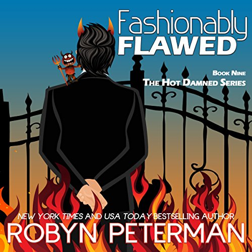 Fashionably Flawed audiobook cover art