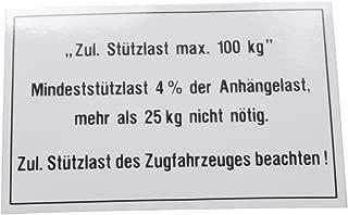 BÜNTE 40056 Stützlastschild
