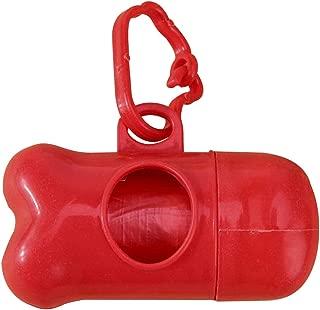 Go get it now Pet Waste Poop Bags Bone Shape Pet Dog Carrier Holder Dispenser with Poop Bags Set Plastic Bucket Damn Poop Bag Dispenser Box