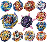 GiGimelon 12-Piece Gyros Pack, Battling Top Battle Burst High Performance Set, Party School Birthday Gift Idea Toys for Boys Kids Children