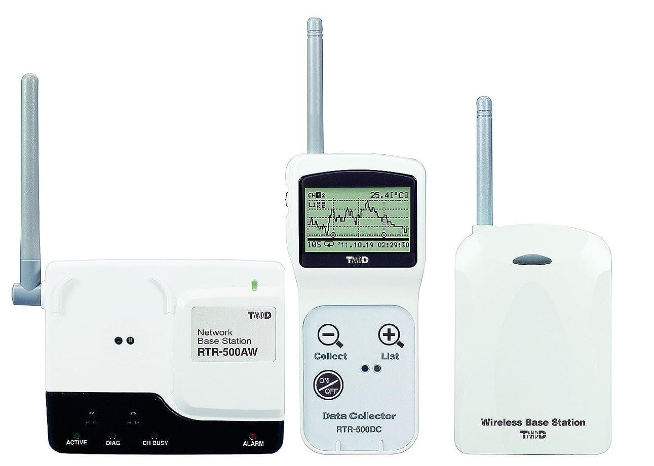 権利を与える電話に出る斧おんどとり ワイヤレスデータロガー(無線式ポータブルデータコレクター)RTR-500DC /1-3528-01