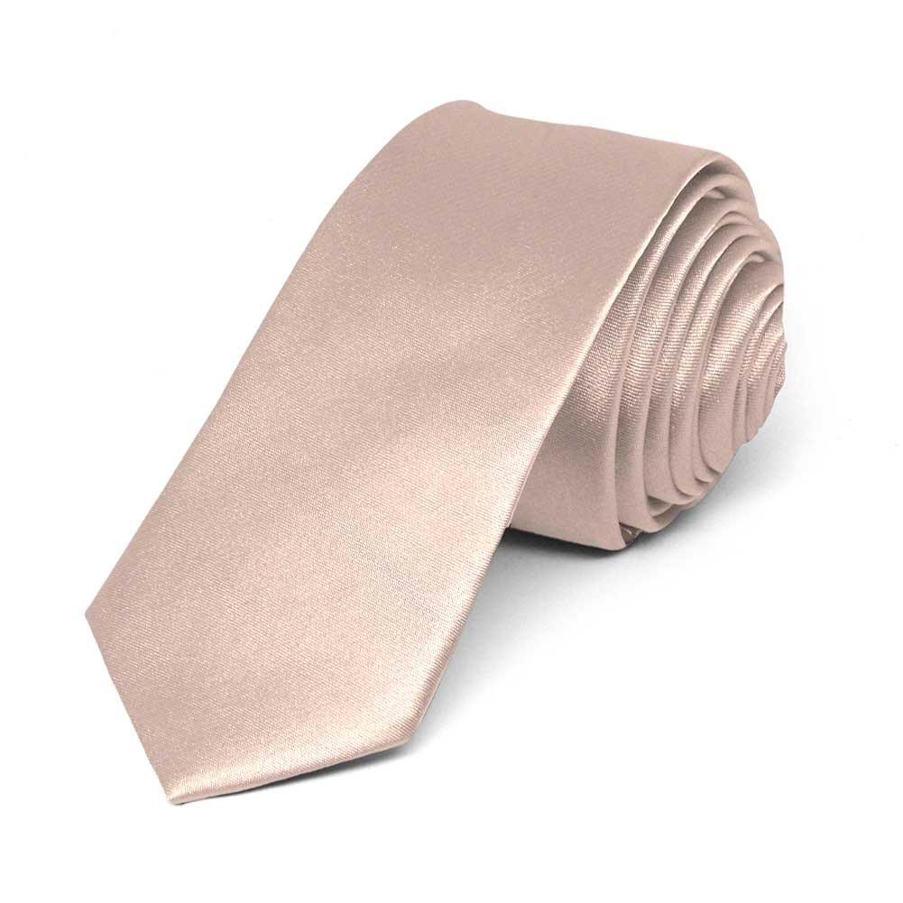 TieMart Bubblegum Pink Solid Color Pocket Square 11 x 11