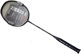 APACS Z - Ziggler Black Red Strung Badminton - with Full Cover