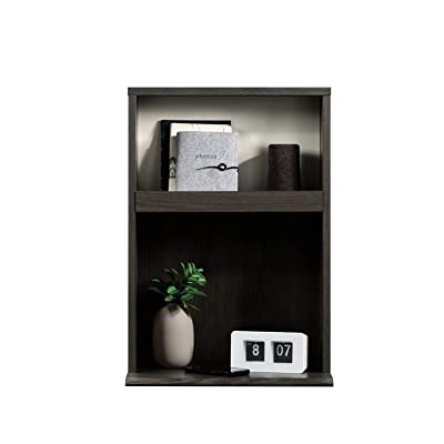 Acencion Nightstand in Charcoal Ash, Assembly Required, Frame Material: Manufactured Wood