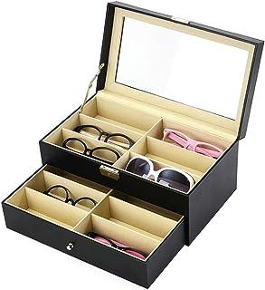 AkoaDa Leather Multi Sunglasses Organizer for Women…