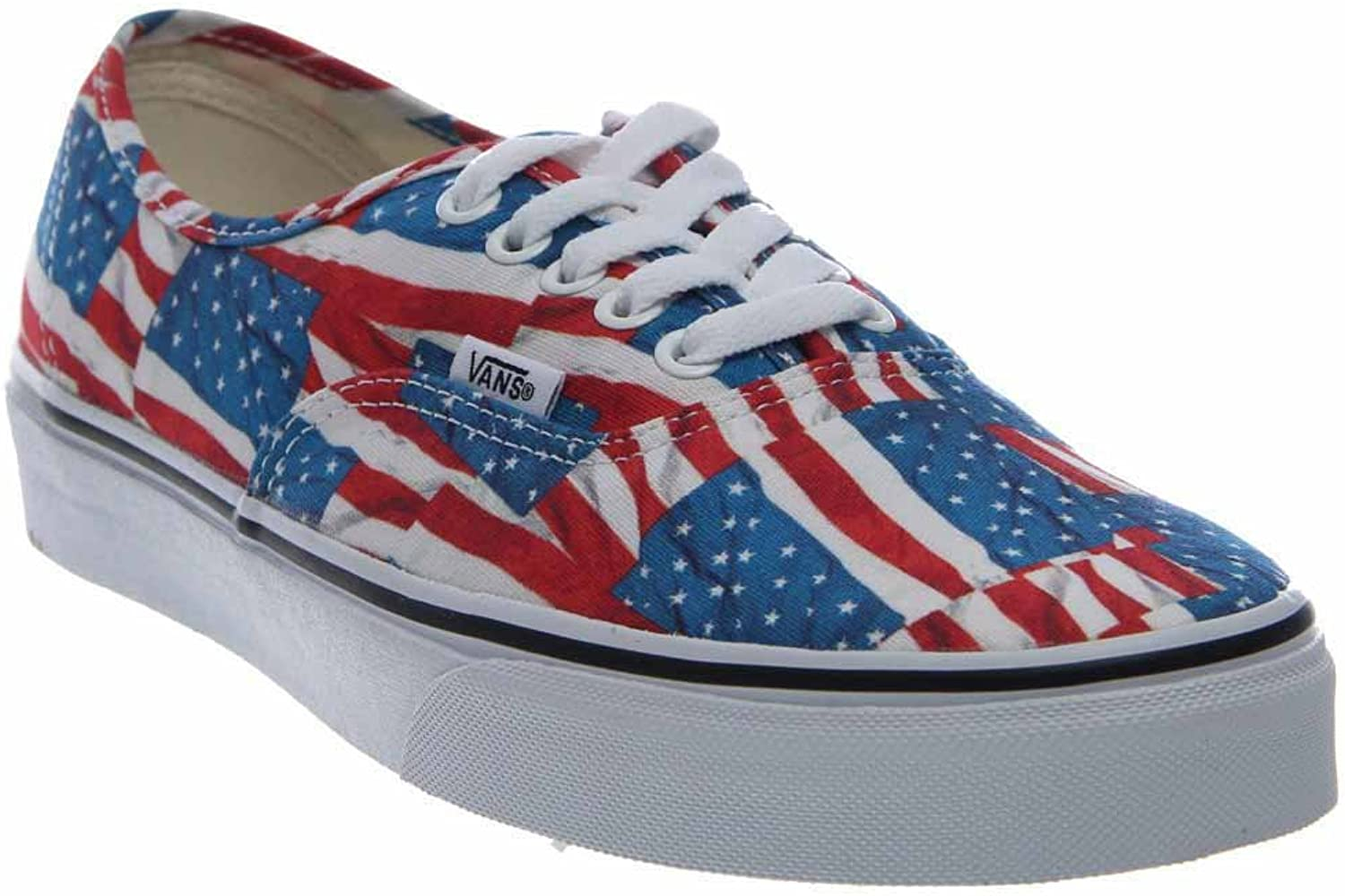 Vans Authentic Free Flag Ankle-High Canvas Fashion Sneaker