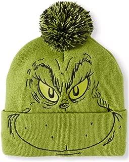 Men's Dr Seuss Knit Cuffed Beanie