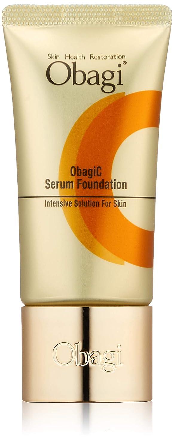 顎汚す前兆Obagi(オバジ) オバジC セラム(ビタミンC 美容液) ファンデーション ピンクオークル10 30g