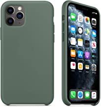 Maycase Compatible for iPhone 11 Pro Case, Liquid Silicone Case Compatible with iPhone 11 Pro (2019) 5.8 inch (Pine Green)